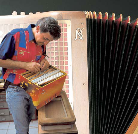 The Ins and Outs of the Accordion book, author Thierry BENETOUX