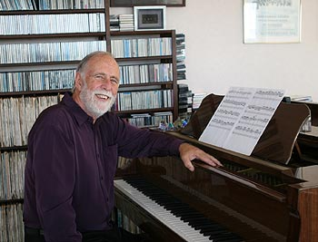 Gary Daverne homepage, accordion composer and symphony composer